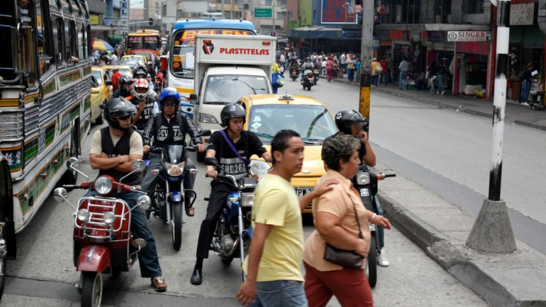 Trafic in a latin american city