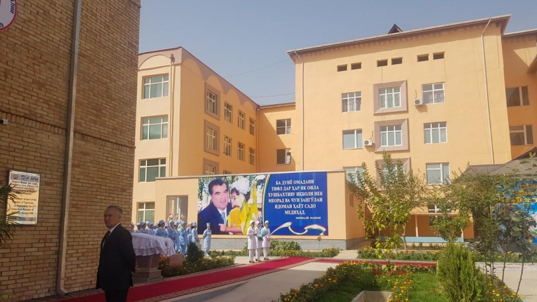 Neues Perinatalzentrum Tadschikistan