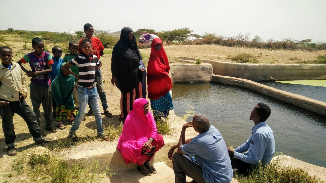 Trinkwasserreservoir