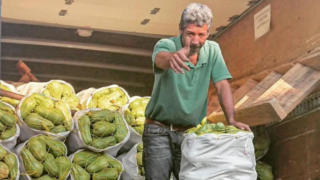 Gemüsehändler - ein Kreditnehmer des BCIE aus Honduras