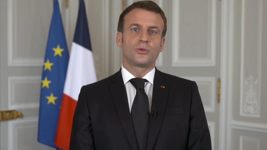 Picture of Emmanuel Macron