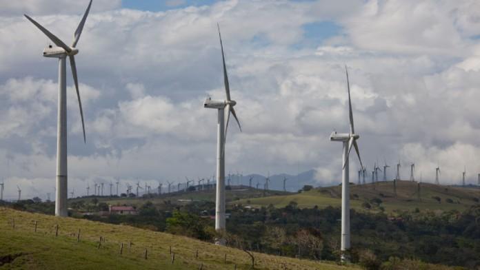 Windräder Peru