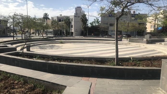 Leerer Platz in Amman