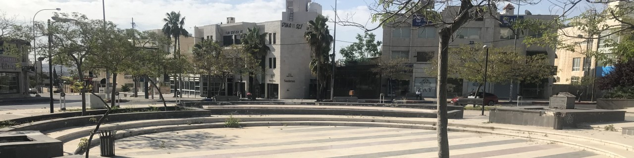 empty square in Amman