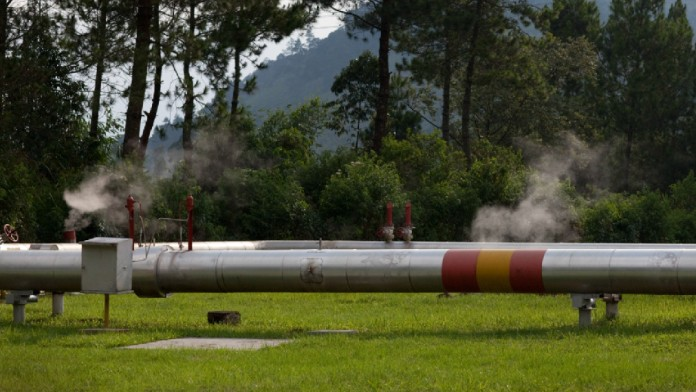 geothermisches Rohrsystem