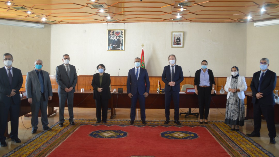 Vertragsverhandlungen in Marokko