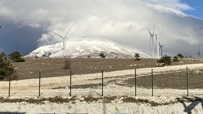 Windpark Podveleje in Bosnien-Herzegowina