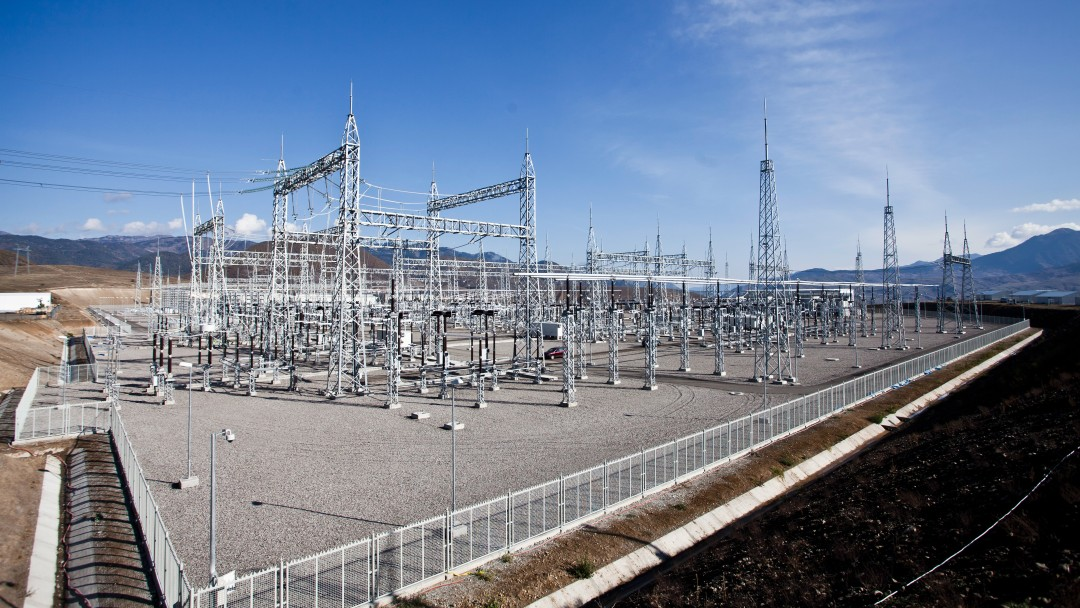 HVDC substation