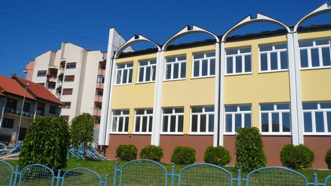 Primary school in Pljevlja, Montenegro