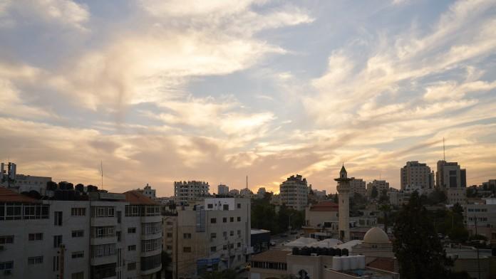 Skyline der Stadt Al Bireh