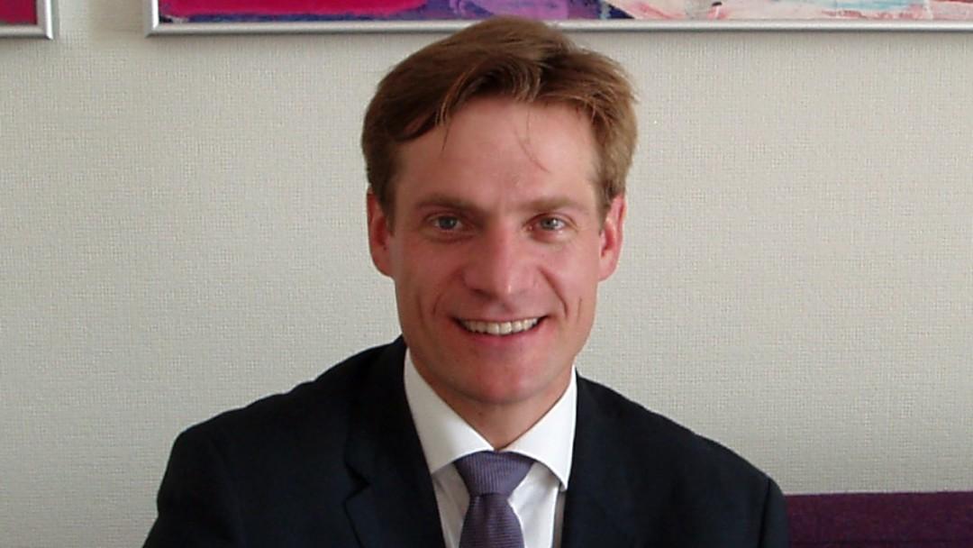 Portrait of Gunnar Wälzholz, Director KfW Office Kiev