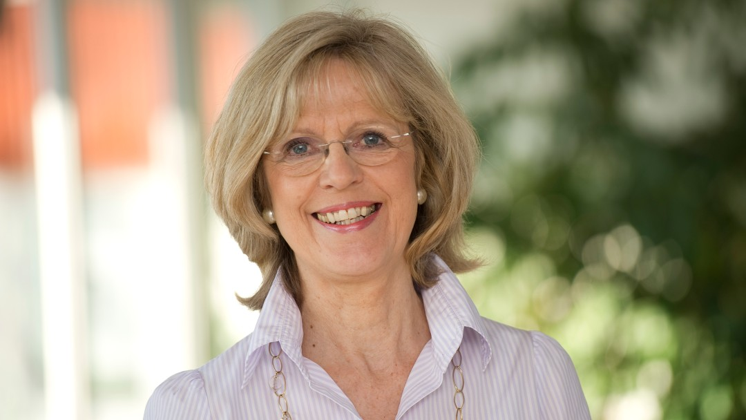 Porträt von Bärbel Dieckmann