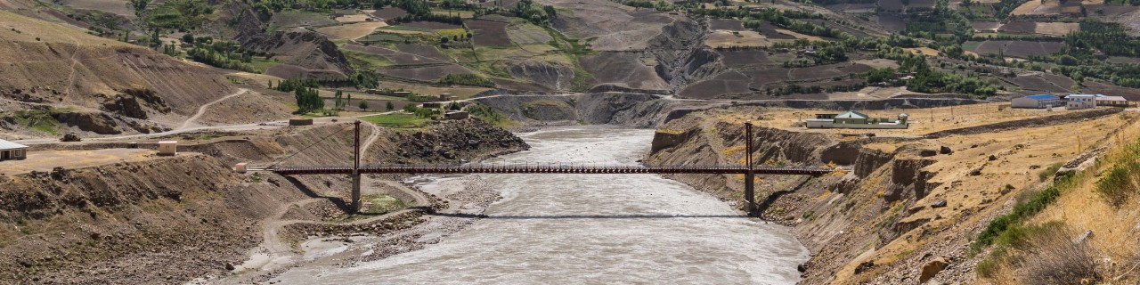 Bridge to link Afghanistan and Tajikistan bringing people into contact again