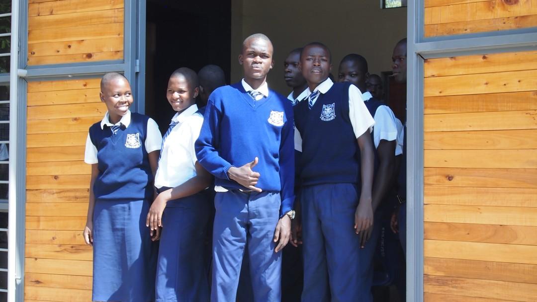 : Pupils in Kasagam Secondary School