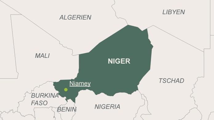 Landkarte von Niger