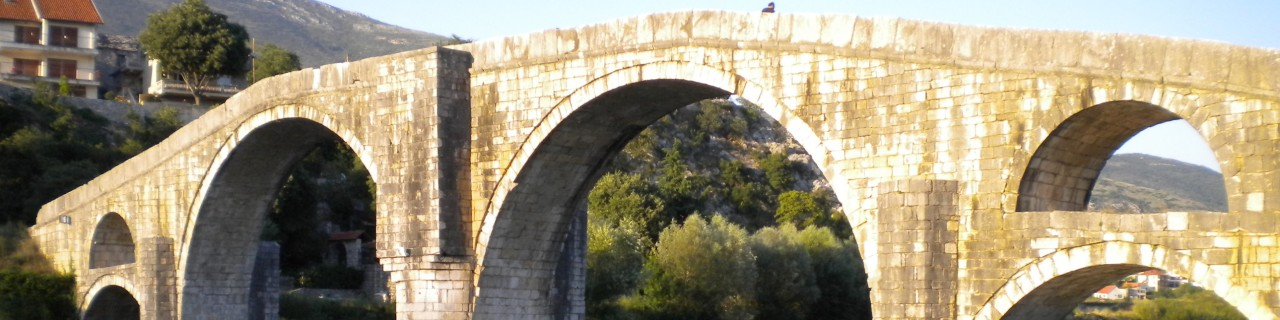 A bridge across the river in Trebinje