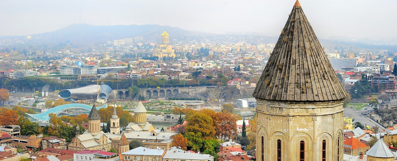 Georgia - Tbilisi from above