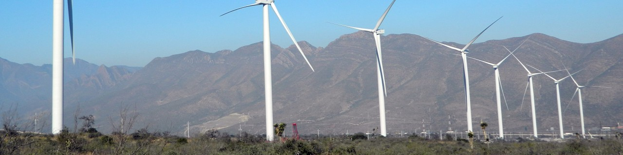 Wind power plants in Mexico