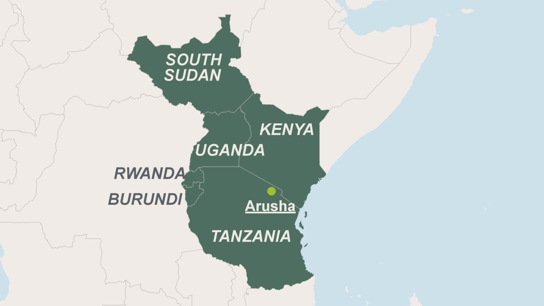 Image result for map of east africa