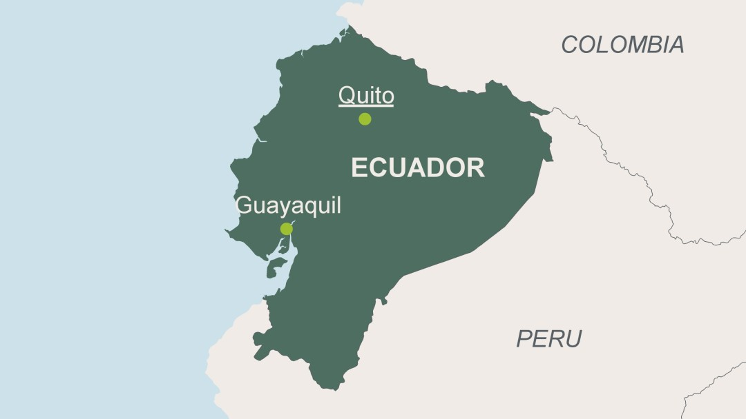 Ecuador - Map of ecuador world