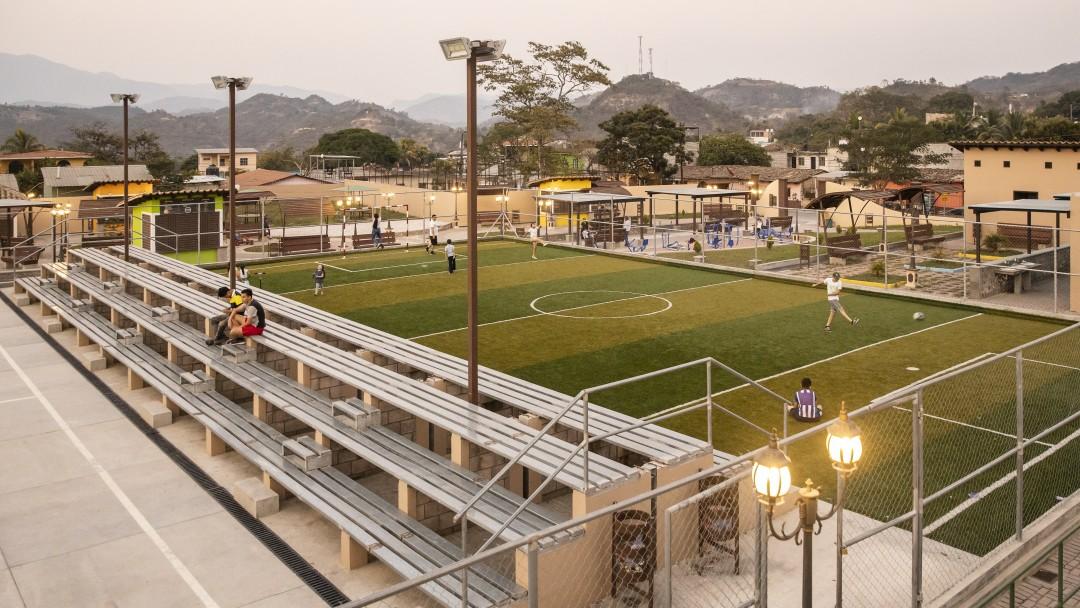 Sportzentrum in Honduras