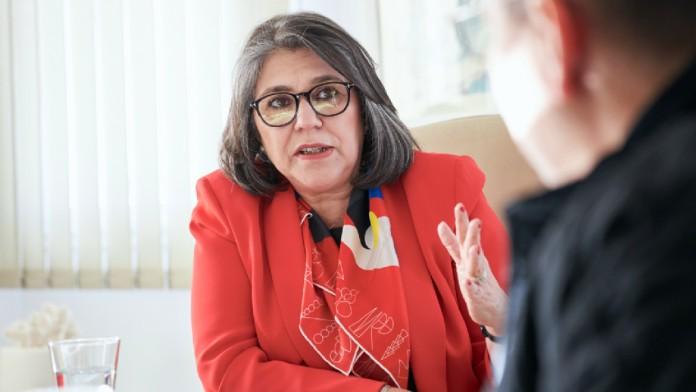 Radhia Kamoun Megdiche, Gründerin von Gourmandise einer Konditoreikette mit Sitz in Tunis.
