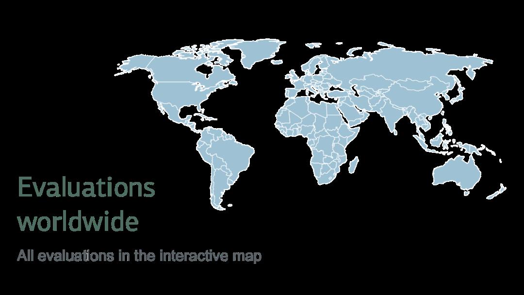 Evaluations worldwide